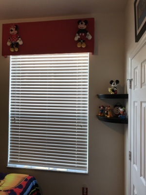 Mickey/Minnie Twin Bedroom