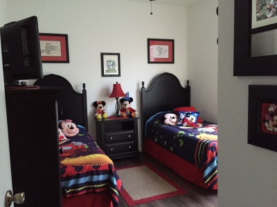 Entrance to Mickey/Minnie Twin Bedroom