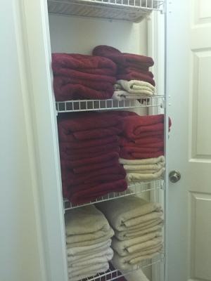 King Bedroom Closet